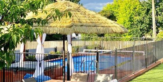 New Spa And Pool At Palmira Lodge Accommodation In Waikawa Marlborough Sounds NZ